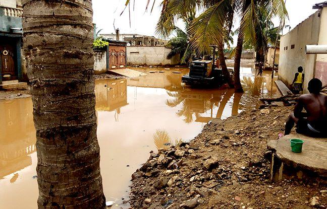 INONDATION A LOME: Bè-kpota sous l'eau