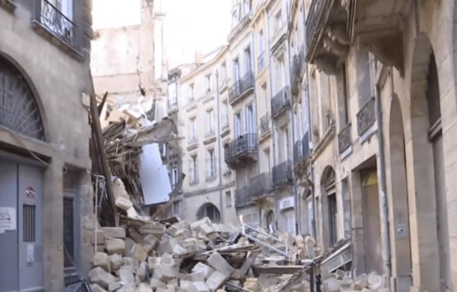 - Dernière minute -  ACCIDENT BORDEAUX : DEUX IMMEUBLES S'EFFONDRENT, 3 PERSONNES BLESSÉES