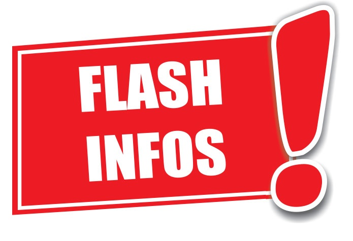 FLASH INFOS LOCALES - Lundi 11 octobre 2021