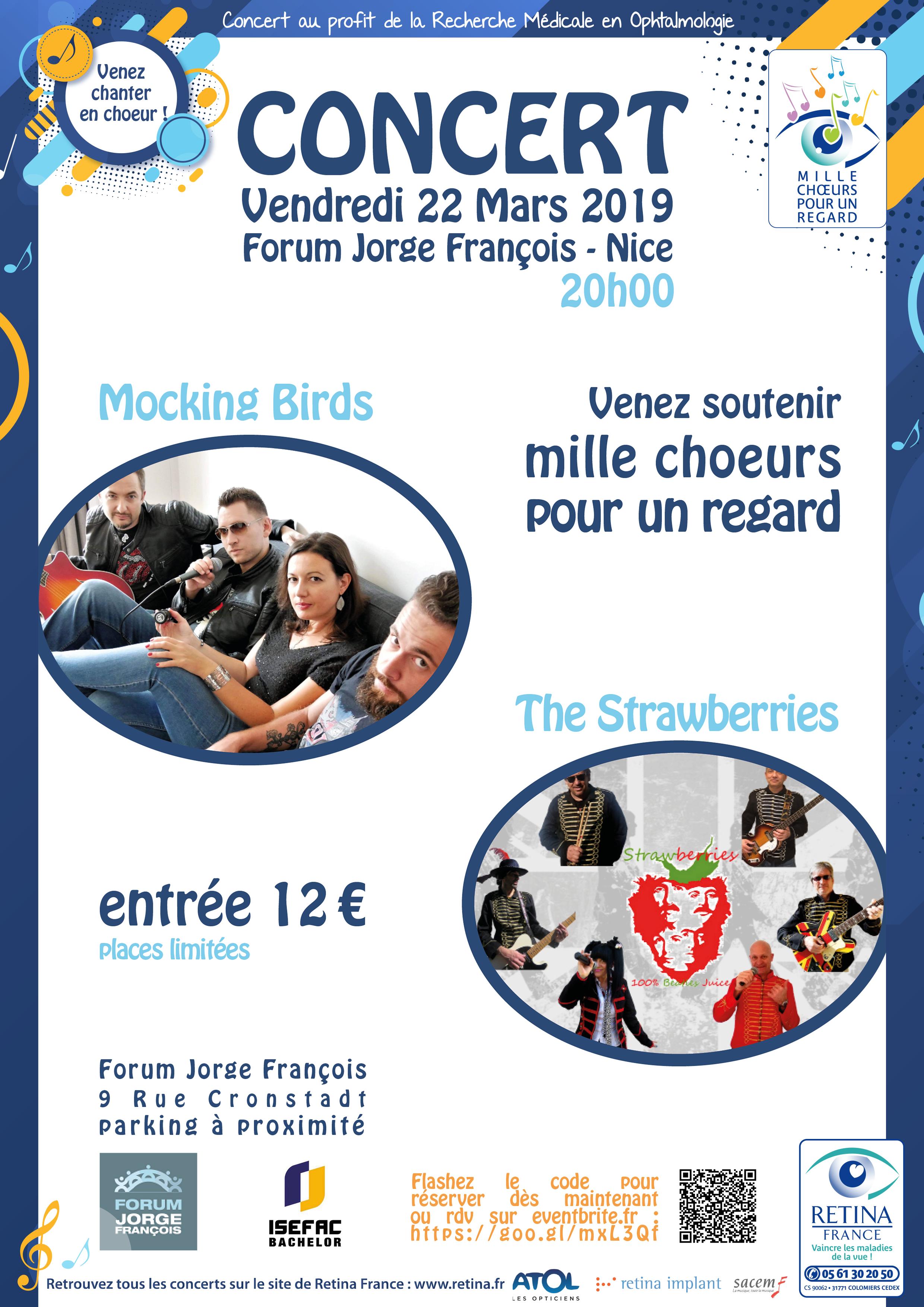 ITW 1000 Choeurs pour 1 regard LIVE  LE 22 Mars 2019
