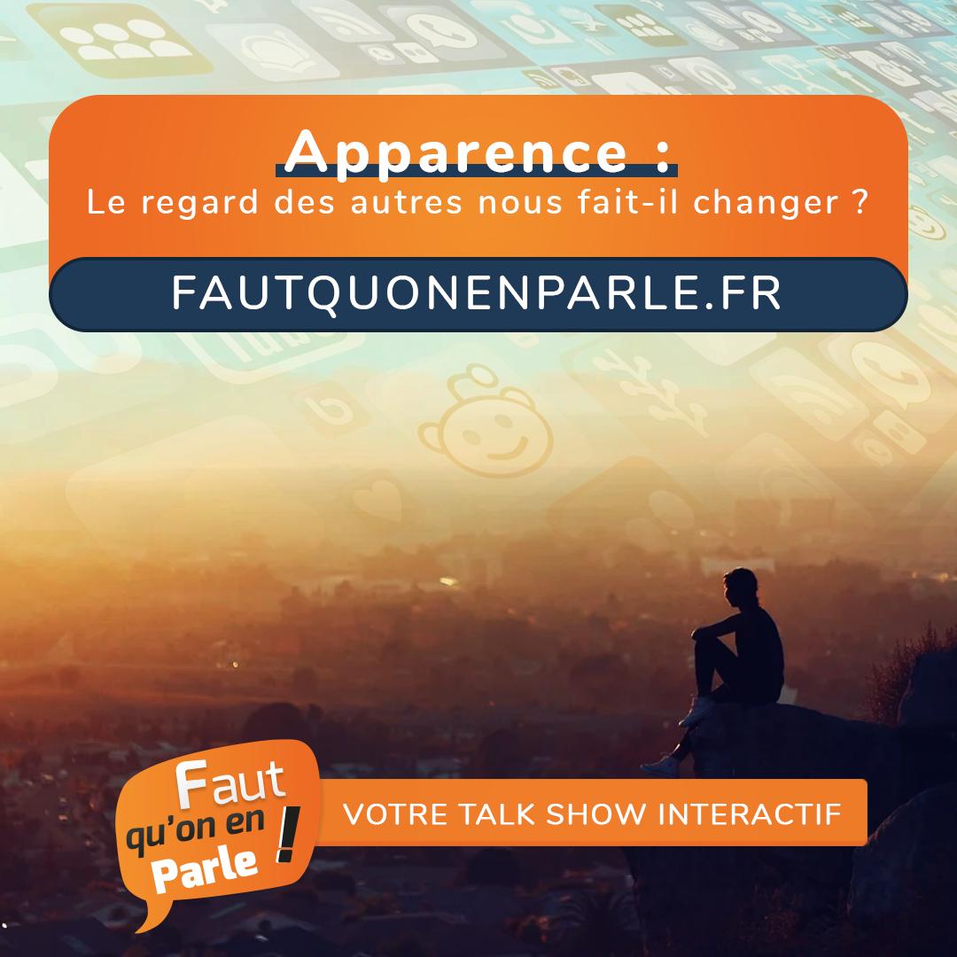 APPARENCE : LE REGARD DES GENS NOUS FAIT IL CHANGER?