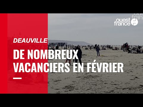 Les vacanciers sont nombreux à Trouville et Deauville